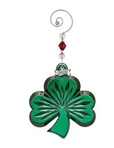 Waterford Green Shamrock Ornament - $75.00