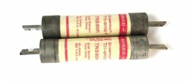 LOT OF 2 GOULD SHAWMUT TRIONIC TRS-80-R DUAL ELEMENT TIME DELAY FUSE 80AMP image 1