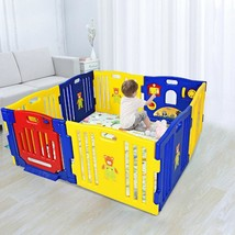 Baby Playpen Kids 8 Panel Safety Play Center Yard - $143.89