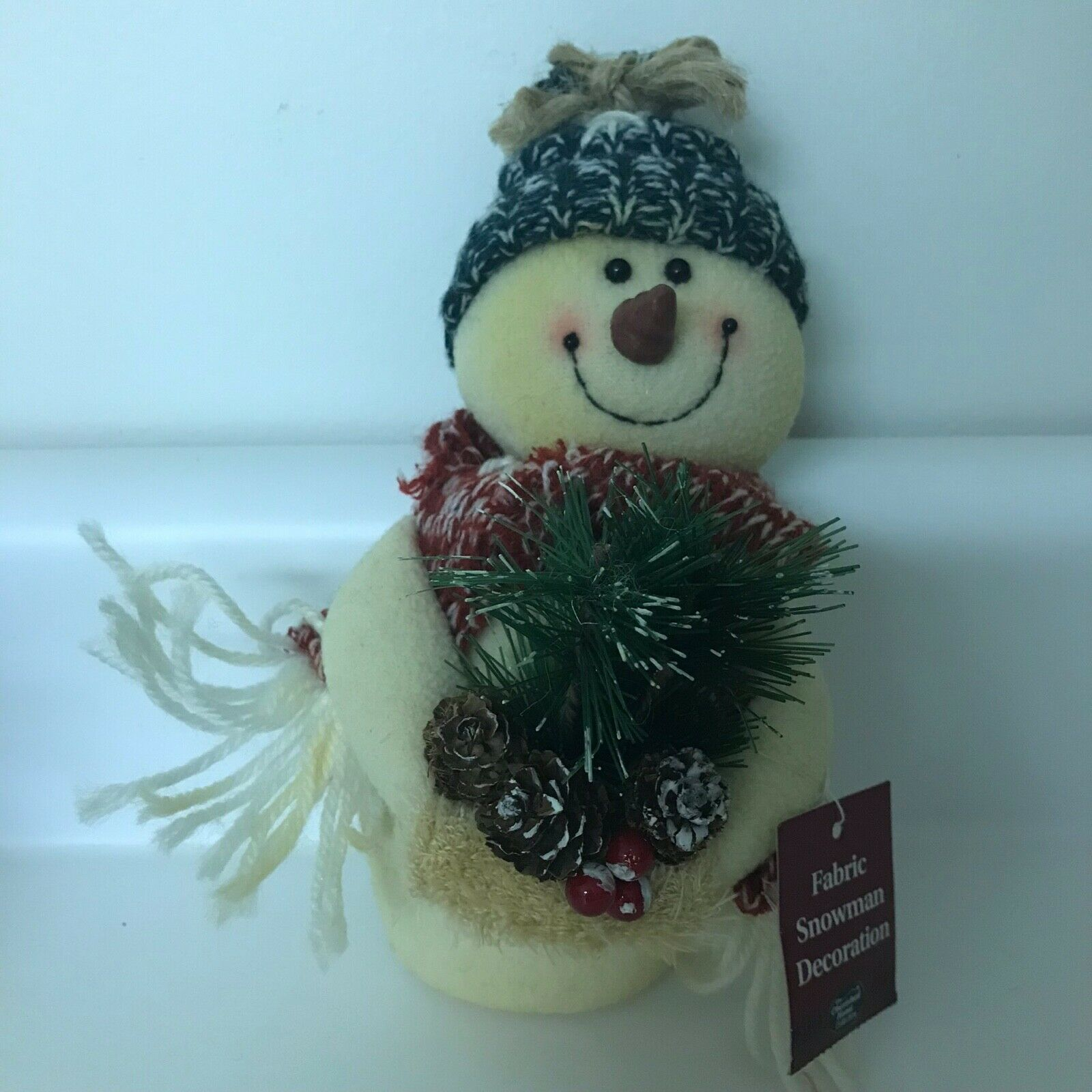 SNOWMAN SIGN Door Hanger Winter Christmas Holiday & Sled Sleigh Table Decor Snow
