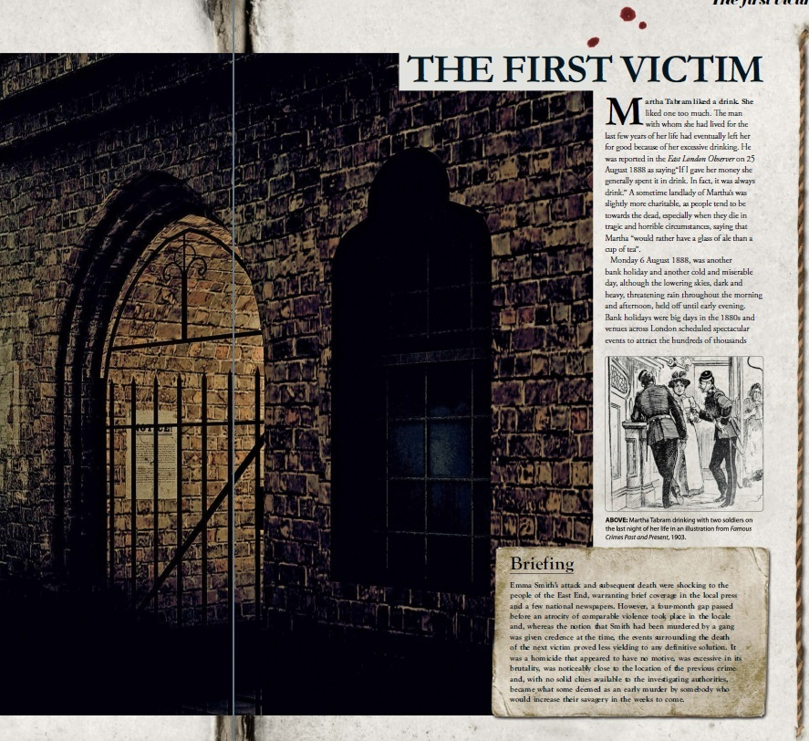 history of jack the ripper Jack the ripper- social views, victims and suspects 'i want to get to work right away if i get the chance, good luck, yours truly, jack the ripper'-from the dear.