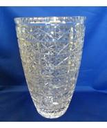 USSR Cut Crystal Vase - $100.00