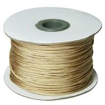 Roman Shade Lift Cord 1.4 Mm Cord 100 Yds - Color Tan - $19.75