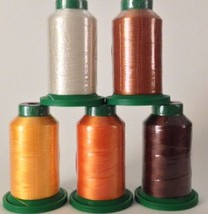 5 pack of Isacord Thread Fall kit -( New in wra... - $26.00