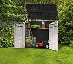 Keter StoreItOut MIDI Outdoor Resin Horizontal Storage Shed 17197662 30 ... - $174.24