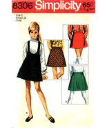 Child's Skirts and Jumper Size 5 Simplicity Pattern 8306  - $7.99