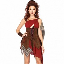 "NEW Women's Warrior Costume ""Deadly Huntress"" Medieval Knight Gladiator ... - $35.39"
