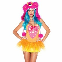 Shaggy Shelly Costume Rave Anime Cosplay Halloween Party Goth Sexy size ... - $37.29