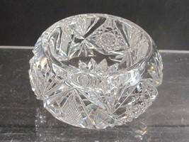 ABP cut glass master salt American brilliant Mouth blown blank - $49.00