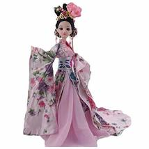 PANDA SUPERSTORE Pink Chinese Style 12-Joints Doll China Ancient Fairy Ball-Join