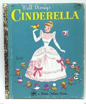 Disney Cinderella Movie Cartoon Book 1979 LGB Golden Books - $9.99