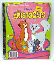 Disney The Aristocats Little Golden Book LGB 1970 Cartoon Story - $9.99