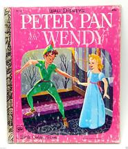 Disney Peter Pan and Wendy 1976 15th print LGB Golden Books - $9.99