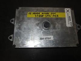 13 HONDA ACCORD ECM #37820-5A2-A58 *See item description* - $148.44