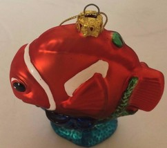 Glass Blown Christmas Tree Ornament Nemo Disney Holiday Decor Funky Collectible - $28.04