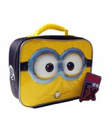DESPICABLE ME MINIONS SOUND FX LeadSafe Insulated Talking Lunch Tote Box... - $14.84