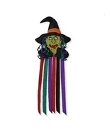 Witch Windtail,Windsock,Outdoor Halloween Decor,Yard Decoration - £21.36 GBP