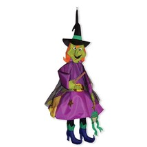 Witch,Windsock,Outdoor Halloween Decor,Yard Decoration - $36.99