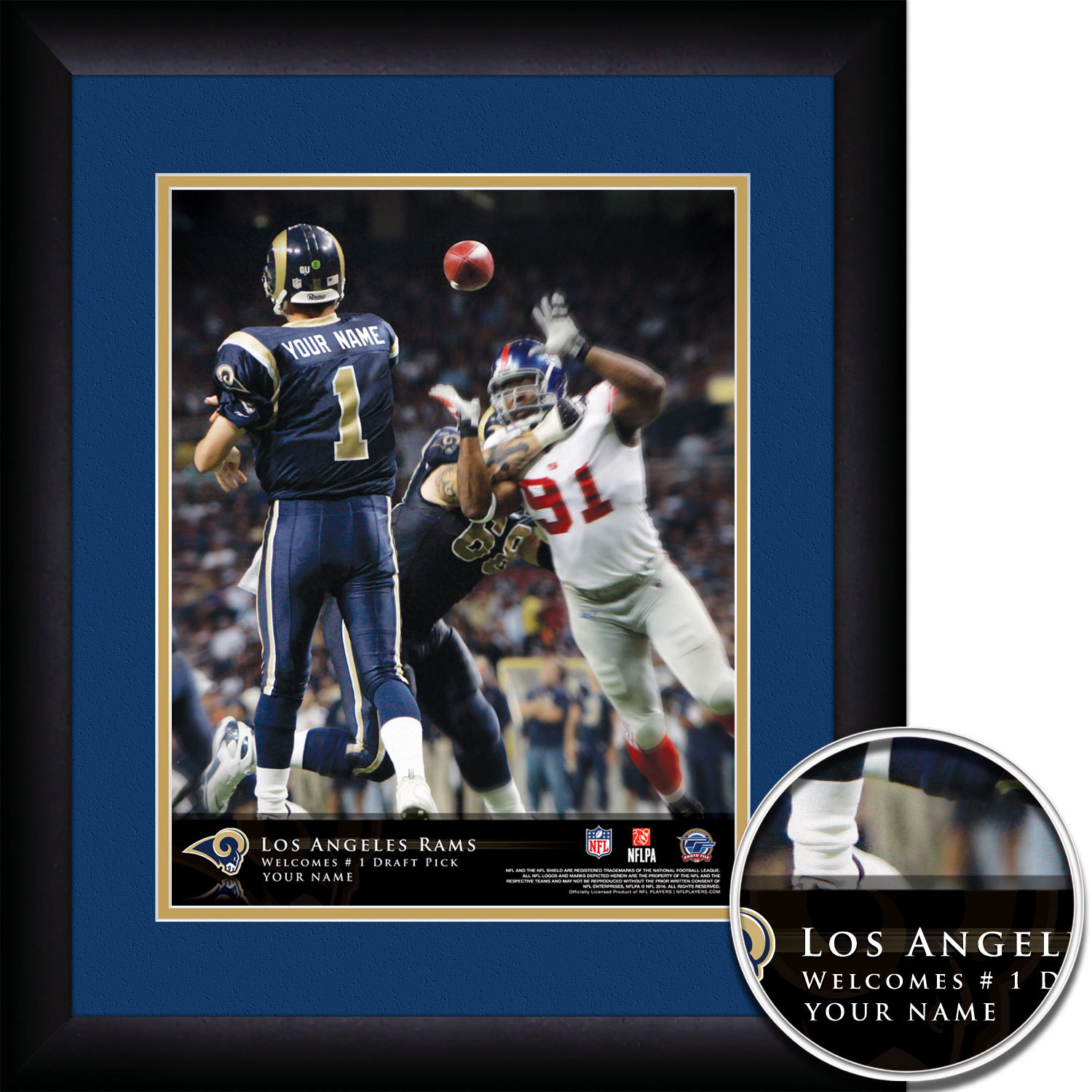da42056be Personalized Los Angeles Rams