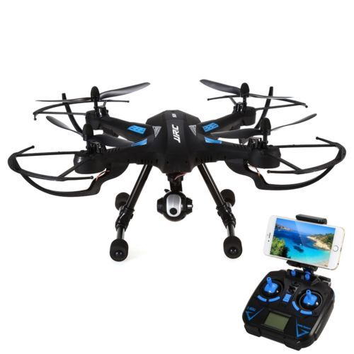 Used, JJRC H26WH R/C Quadcopter Wifi FPV, 0.3MP 4CH Camera RTF Version - Black for sale  USA