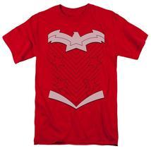 Wonder Woman Costume Short Sleeve T-Shirt Adult Unisex Superhero Cosplay Red - $18.95+