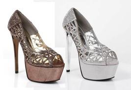 Ellie Shoes 607-ROSAFINA - Bronze - $33.99