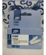 BOOTS PHARMACEUTICALS FLIGHT EARPLUGS FOR IN FLIGHT EAR DISCOMFORT PAIN ... - $12.99