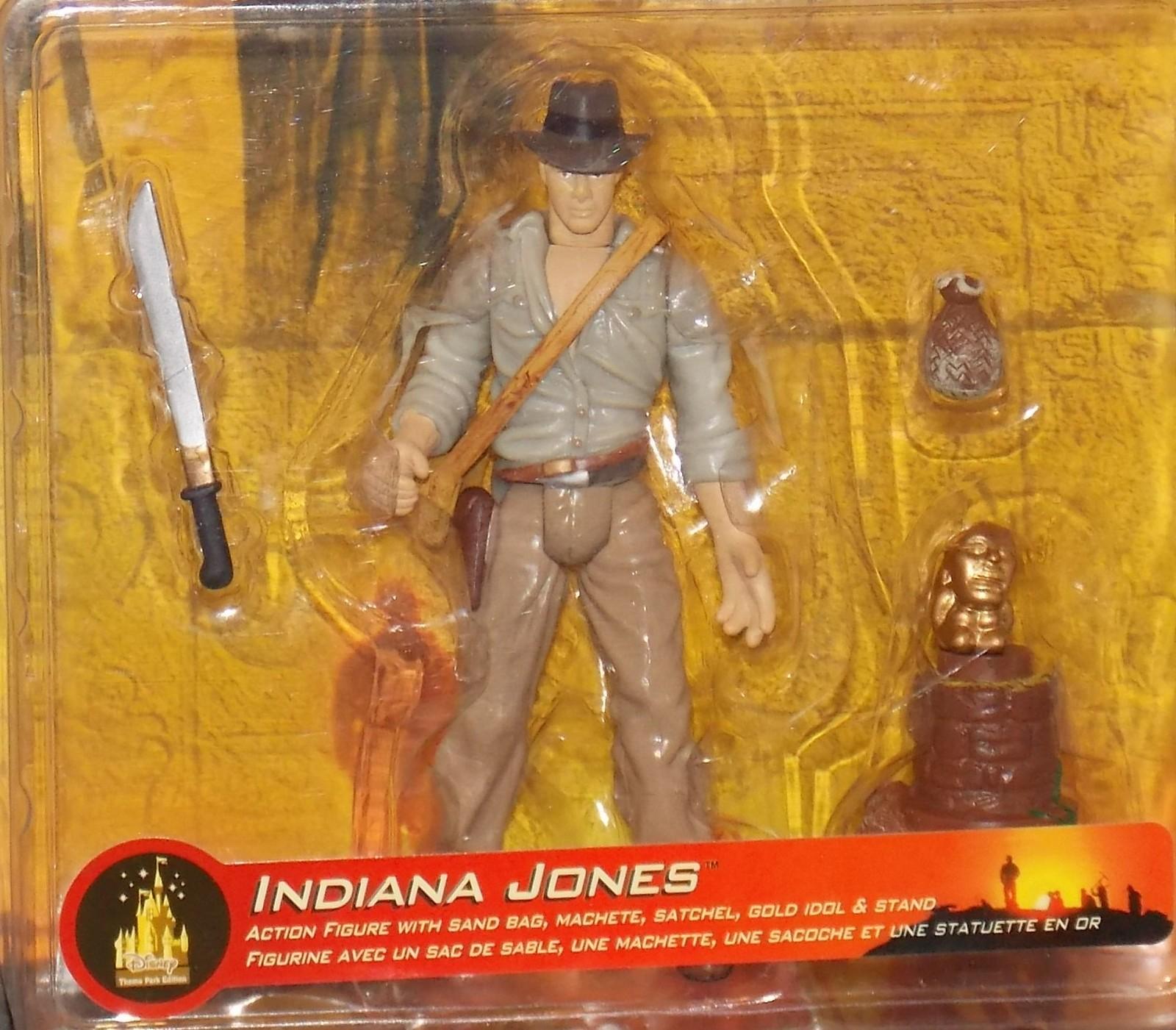 2003 Indiana Jones Disney Action Figure New In The Package