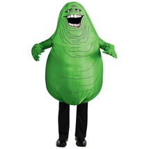 Slimer Costume Adult Inflatable Ghostbusters Halloween Fancy Dress - $69.17