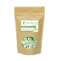 Premium Lecharm Organic Natural Jasmine Green Powder Tea 40 Sachets non-GMO - $21.38
