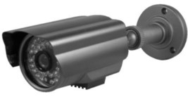 Three-Axis In/Outdoor Color DSP CCD IR Camera, 1/4-Inch Sony Super HAD CCD - $27.72