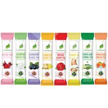 Lecharm Herbal Flower Tea Fruit Tea Samplers 16 sachets, Natural Ingredients - $7.97