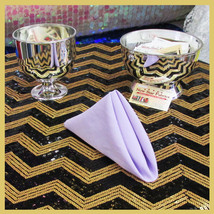 """100 pcs 18"""" Polyester Napkins Wedding Party Table Decorations Supply Lil... - $89.95"""