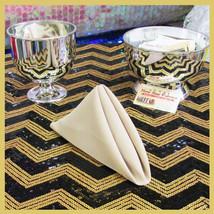 "100 pcs 18"" Polyester Napkins Wedding Party Table Decorations Supply Kha... - $89.95"