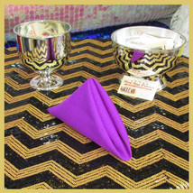 """100 pcs 18"""" Polyester Napkins Wedding Party Table Decorations Supply Mag... - $89.95"""