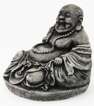 Laughing Buddha Concrete Statue  - $52.00