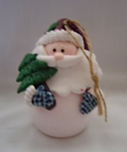 Santa Clause Snowman Light Up  Christmas Ornament  - $9.99