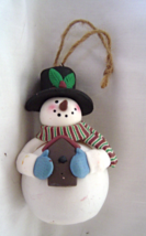 Snowman Light Up  Christmas Ornament  - $9.99