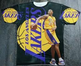 Kobe Bryant Los Angeles Lakers  T Sublimated Shirt   - $33.99