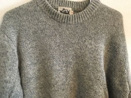 WOOLRICH SWEATER MEN'S SIZE L 85% WOOL 15% NYLON VINTAGE GRAY COLOR - $983,62 MXN