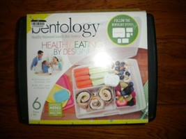 Bentology 6 Piece Classic Bento Box Set with 5 Removable Containers Lunc... - $9.89