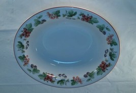 Wedgwood Provence Queensware Oval Vegetable Bowl  - $42.97