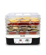 NEW BLES FD225 Food Dehydrator Dryer 5 Trays Timer Temperature Control - $173.25