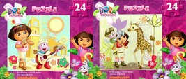 Dora and Friends - 24 Pieces Jigsaw Puzzle (Set of 2 Pack) - v6 - $16.82