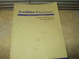 scanmaker 2  or scanmaker 2xe scanner operators manual microtek  - $7.99