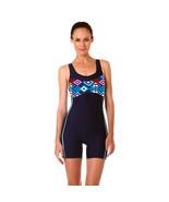 Ladies One Piece Swimsuit Women Jumpsuit Swimwear Boy Shorts Bathing Sui... - $34.95