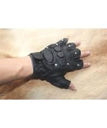 New men's 100% real leather Field training gloves,police gloves,Driving ... - $19.85