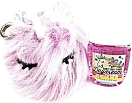 Bath and Body Works Fuzzy Unicorn Holder, Don't Quit your Daydream Pocke... - $21.17