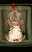 Waterford Crystal Marquis Noel Angel Bell Christmas Ornament Third in a Series image 2