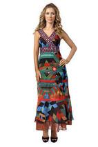 Savage Culture: Seductive Colors Silvia Long Sundress - $124.00